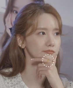 [윤아 V Live 협찬] Multi Natural Stone Ring Set