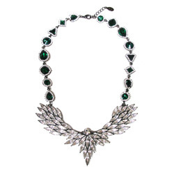 [즉시배송 우아한가협찬] Vintage Crystal Statement Necklace