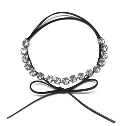 [즉시배송] Glam Stone Double Wrap Choker