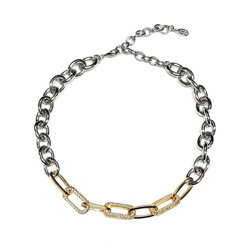 Gold Silver Two Tone Chain Mix
